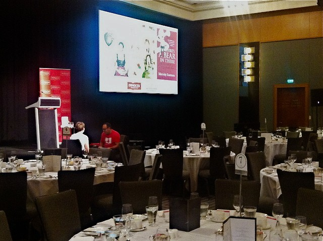 Dymocks Literary Luncheon, Four Seasons Hotel, Sydney, February, 2013