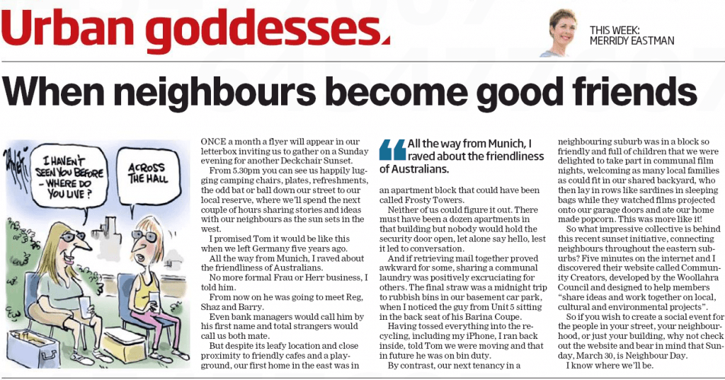 Wentworth Courier, 26th March, 2014